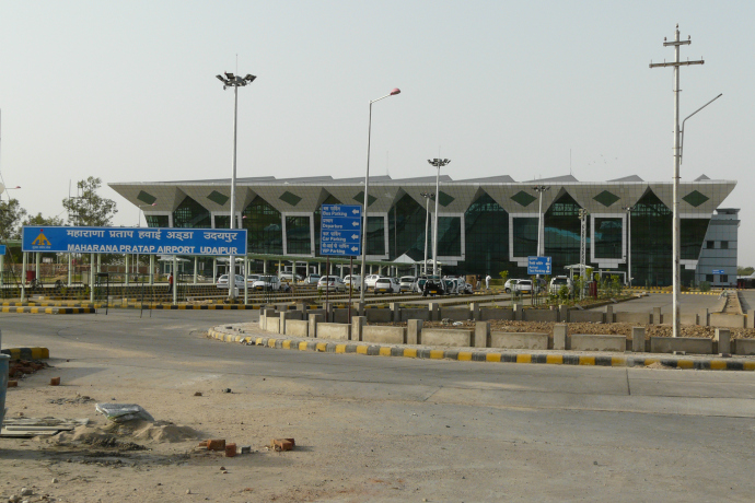 Udaipur Airport started operations on 2008.